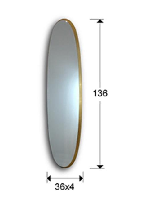 Дзеркало Schuller Aries 136х36