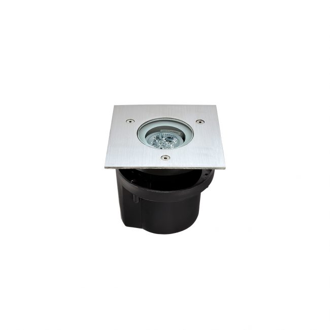 Вбудований світильник HYDROFLOOR COMPACT SQUARE GU10