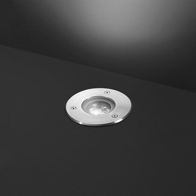 Вбудований світильник HYDROFLOOR COMPACT ROUND GU10- CD Ring