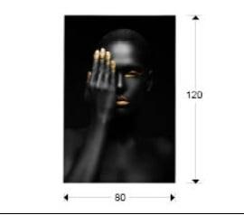 Фотографія в склі Schuller Oronegro 80x120