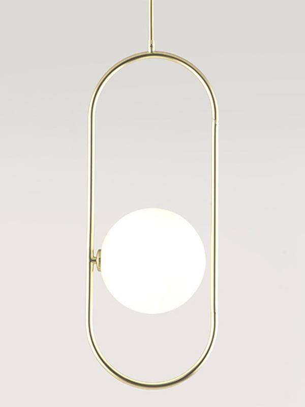 Підвісний світильник Aromas del Campo Abbacus matt gold