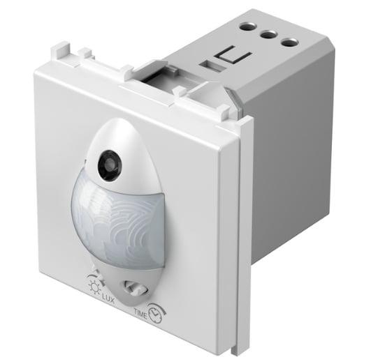 Інфрачервоний вимикач (датчик руху) 5А, 230В, 2 модуля,  колір сніжно-білий EM32PW