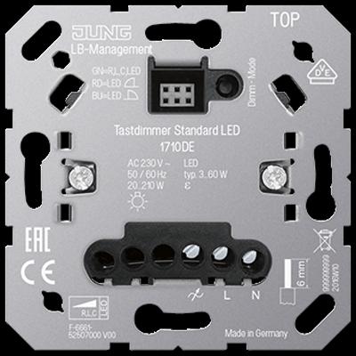 Вставка стандартна LED димера LВ 1710DE
