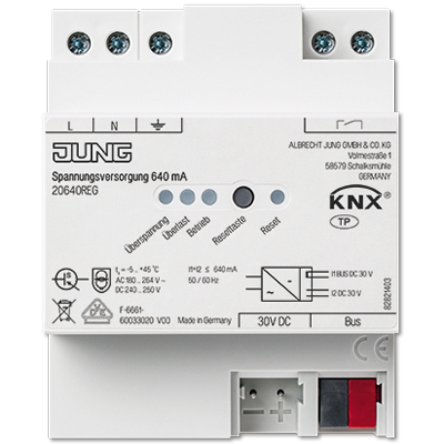 KNX блок живлення, 640 мA