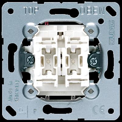 Механізм вимикача простого 2-кл. 1-пол. 505U