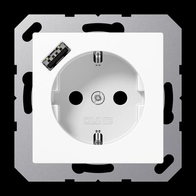 Розетка SCHUKO® с USB-интерфейсом
