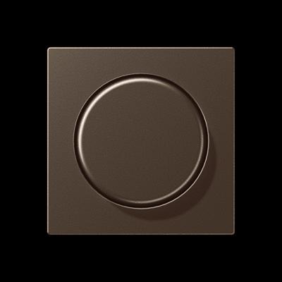 Кришка для поворотно-нажимного світлорегулятора Мокко