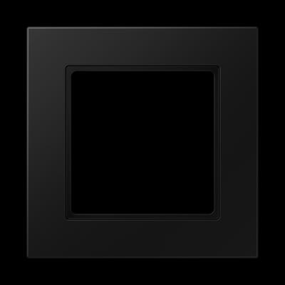 Рамка A550 1-на Чорний матовий