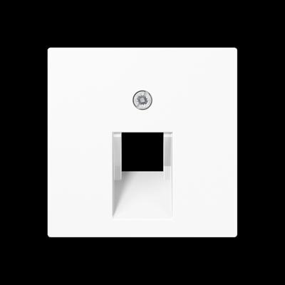 Кришка для комп'ютерної розетки UAE Біла