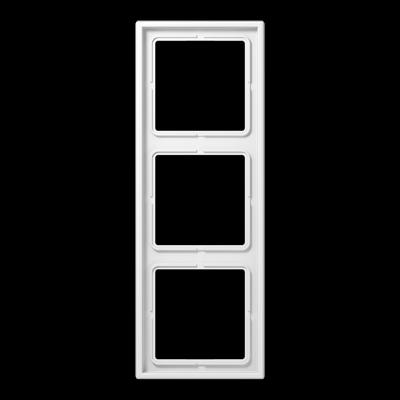 Рамка LS990 3-на Біла