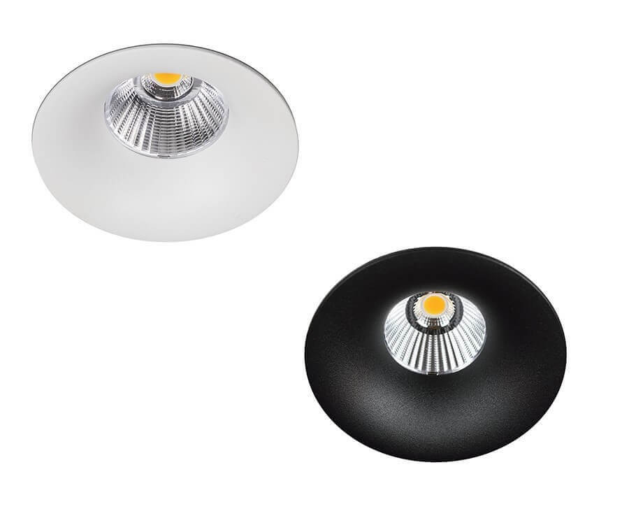 Вбудований світильник Kohl lighting Luxo чорний