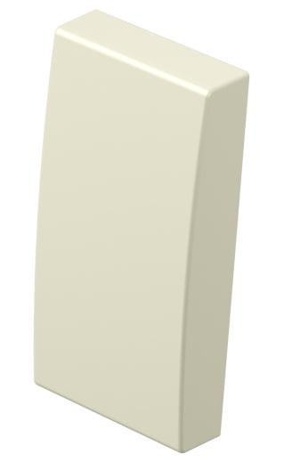 Клавіша на однополюсний вимикач 1 модуль колір слонова кістка TM11IW