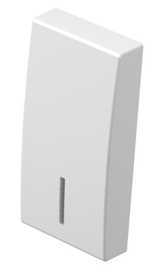 Клавіша на однополюсний вимикач з індикацією 1 модуль колір сніжно-білий TM11PWIN
