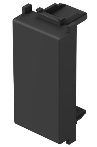 Заглушка, 1 модуль, колір антрацит TM21AT