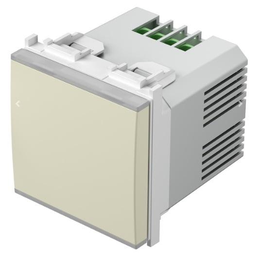 Вимикач-світлорегулятор універсальний, 2 модуля, колір слонова кістка EM25IW