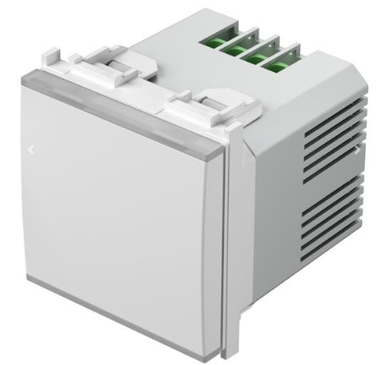 Додатковий кнопковий блок управління світлорегулятором універсальним EM25, 2 модуля, колір сніжно-білий EM26PW