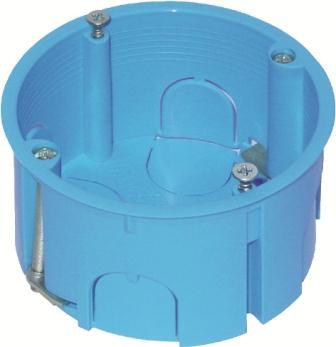 Коробка кругла для порожніх стін 2 модуля HE10
