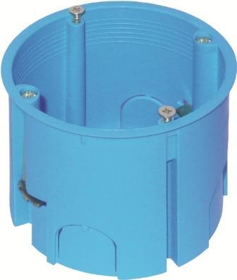 Коробка кругла поглиблена для порожніх стін 2 модуля HE11