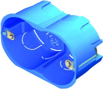 Коробка прямокутна для порожніх стін 3 модуля HM30