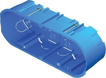 Коробка прямокутна для порожніх стін 7 модулів HM70