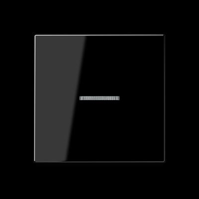 Клавіша з віконцем для вимикача Серія А Біла