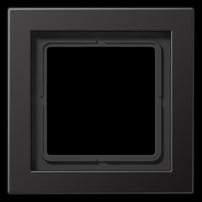 Рамка LS Design 1-на Алюміній Dark