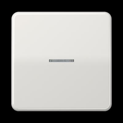 Клавіша з віконцем для вимикача CD 500 Біла