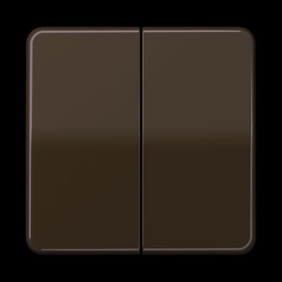 Клавіші для двоклавішного вимикача CD Білі