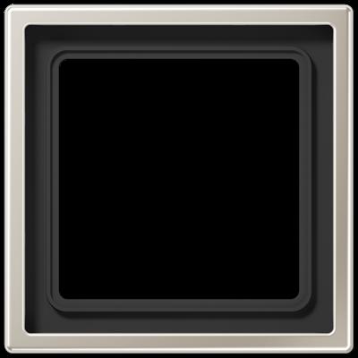 Рамка LS990 1-на Нержавіюча сталь