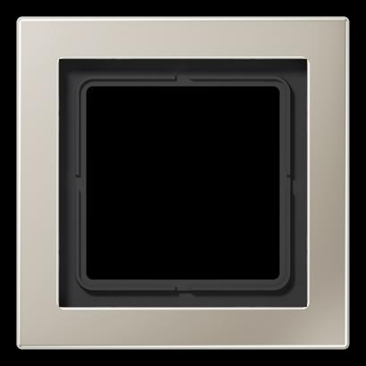 Рамка LS Design 1-на Нержавіюча сталь