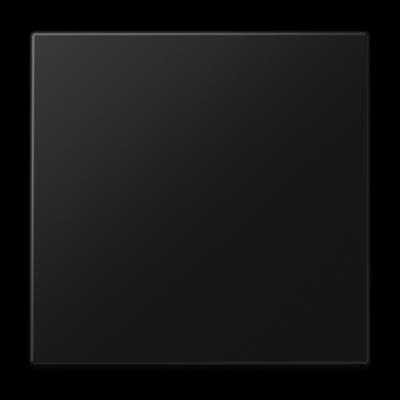 Клавіша для вимикача LS990 Чорний матовий