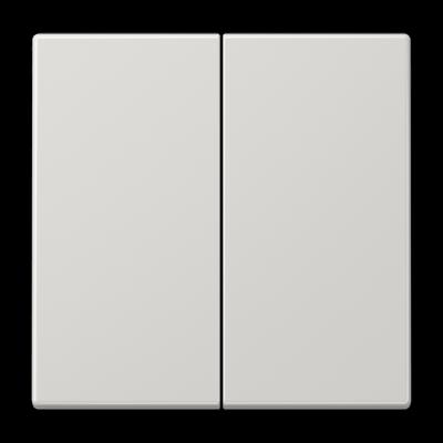 Клавіші для двоклавішного вимикача LS990 Світло-сірий