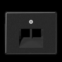 Накладка для подвійної комп'ютерної розетки UAE SL569-2UAWW