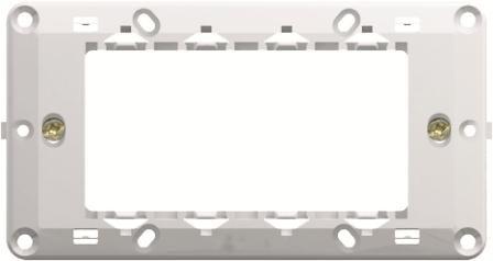 Монтажний суппорт італійський стандарт 4 модуля NM40