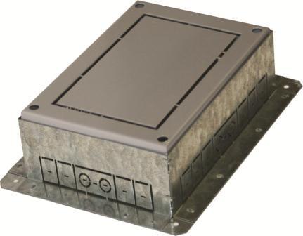 Фланець підлогового лючка на 7 модулів RB31