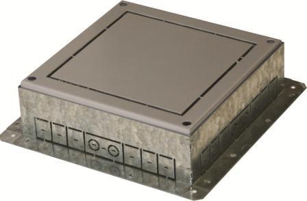Фланець підлогового лючка на 14 модулів RB34