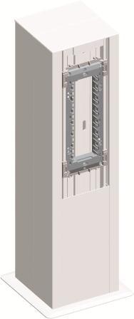 Міні-колона МА130х130х500 подвійна, колір сніжно-білий RT53PW