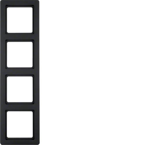 Рамка 1-на Q. 1 Антрацит
