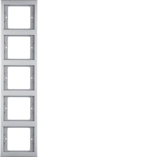 Рамка 1-на K. 5 Нержавіюча сталь