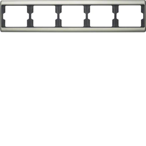 Рамка 1-на Arsys Нержавіюча сталь