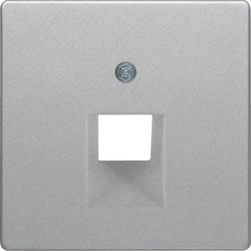 Центральна панель для розетки UAE 1-місна Серія Q Полярна білизна