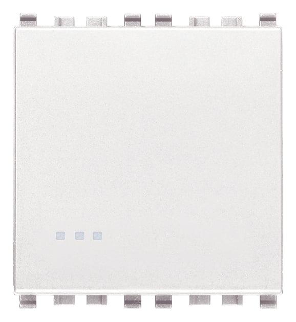 Вимикач прохідний (універсальний) 16А 250В 2 модулі колір білий EIKON 20005.2.B