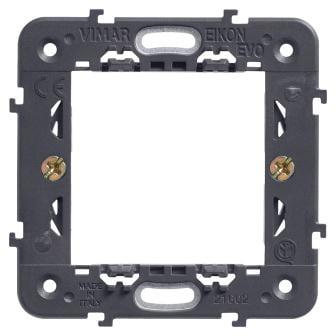 Монтажний супорт з лапками 2 модуля EIKON 21602