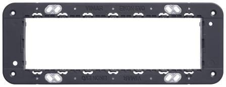 Монтажний суппорт італійський стандарт 7 модулів EIKON 21617