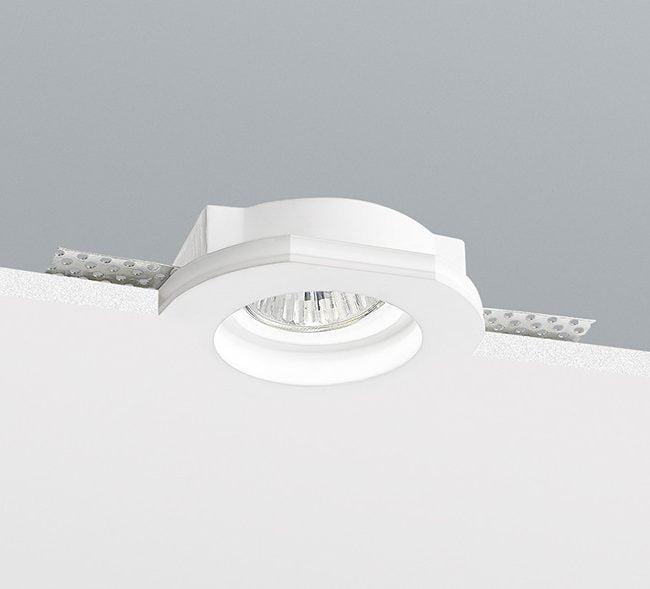 Вбудований точковий світильник Nobile, гіпс