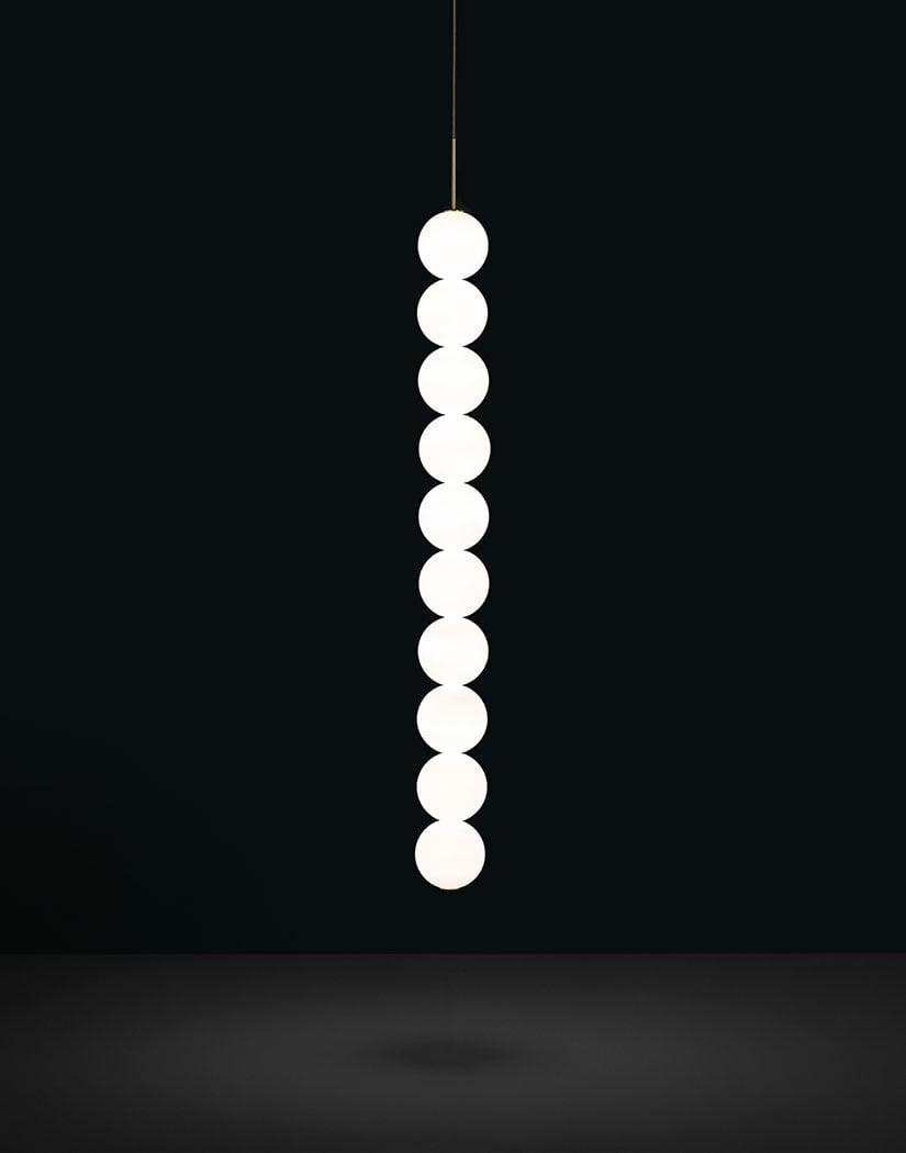 Підвісний світильник Terzani Abacus Pendant Body | 10 spheres| Disc